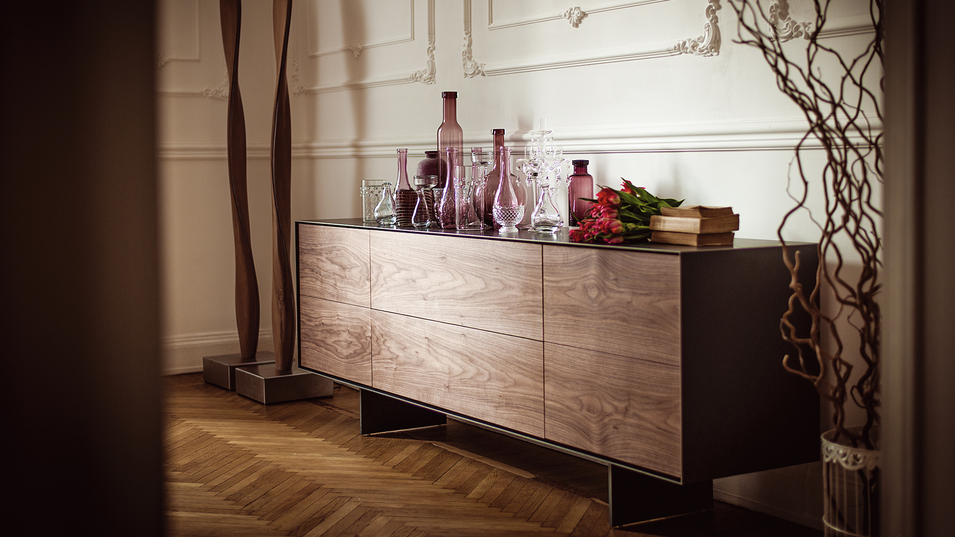 riva 1920 tische aus jahre altem kauri holz bei. Black Bedroom Furniture Sets. Home Design Ideas
