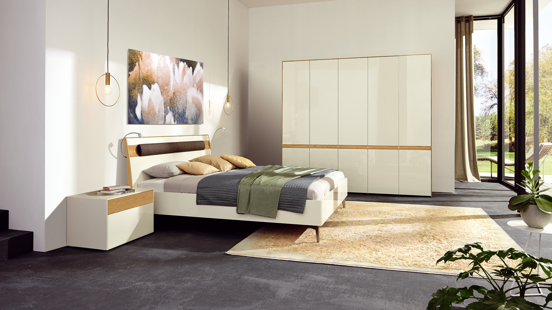 h lsta betten regale und schr nke bei prinz wohnen. Black Bedroom Furniture Sets. Home Design Ideas