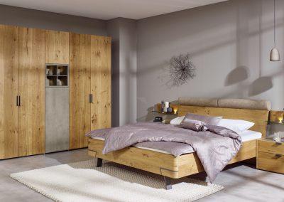 Schlafzimmer Fena von Hülsta in Balkeneiche