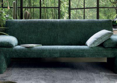 Sofa Linea von Jori mit Stoffbezug