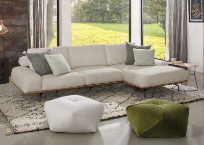 Sofa Shine von Ewald Schillig Stoffbezug