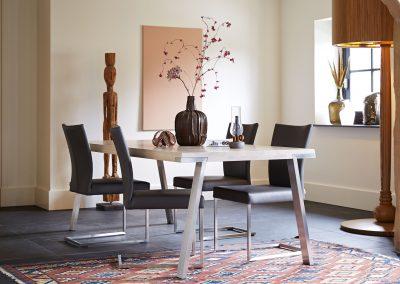 Tisch Seven und Stuhl Misty von Bert Plantagie