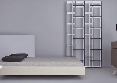Bett Simple von Zeitraum