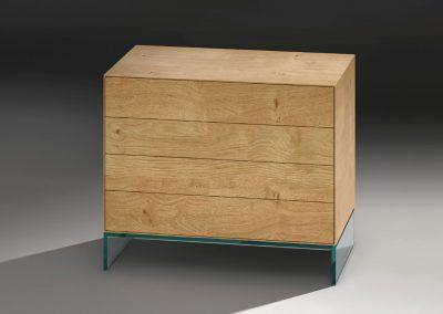 Holzkonsole von Dreieck Design