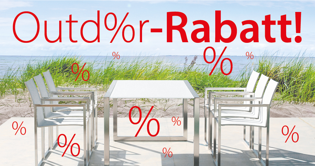 outdoor rabatt website header - prinz wohnen