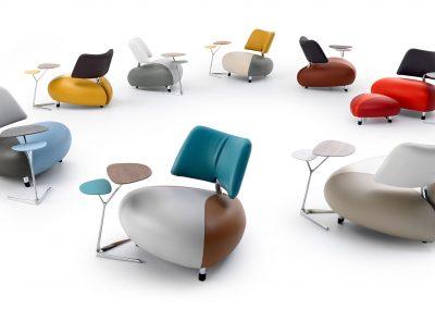 Sessel Pallone von Leolux in verschiedenen Farben