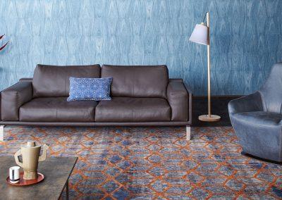 Sofa Bellice von Leolux aus Leder