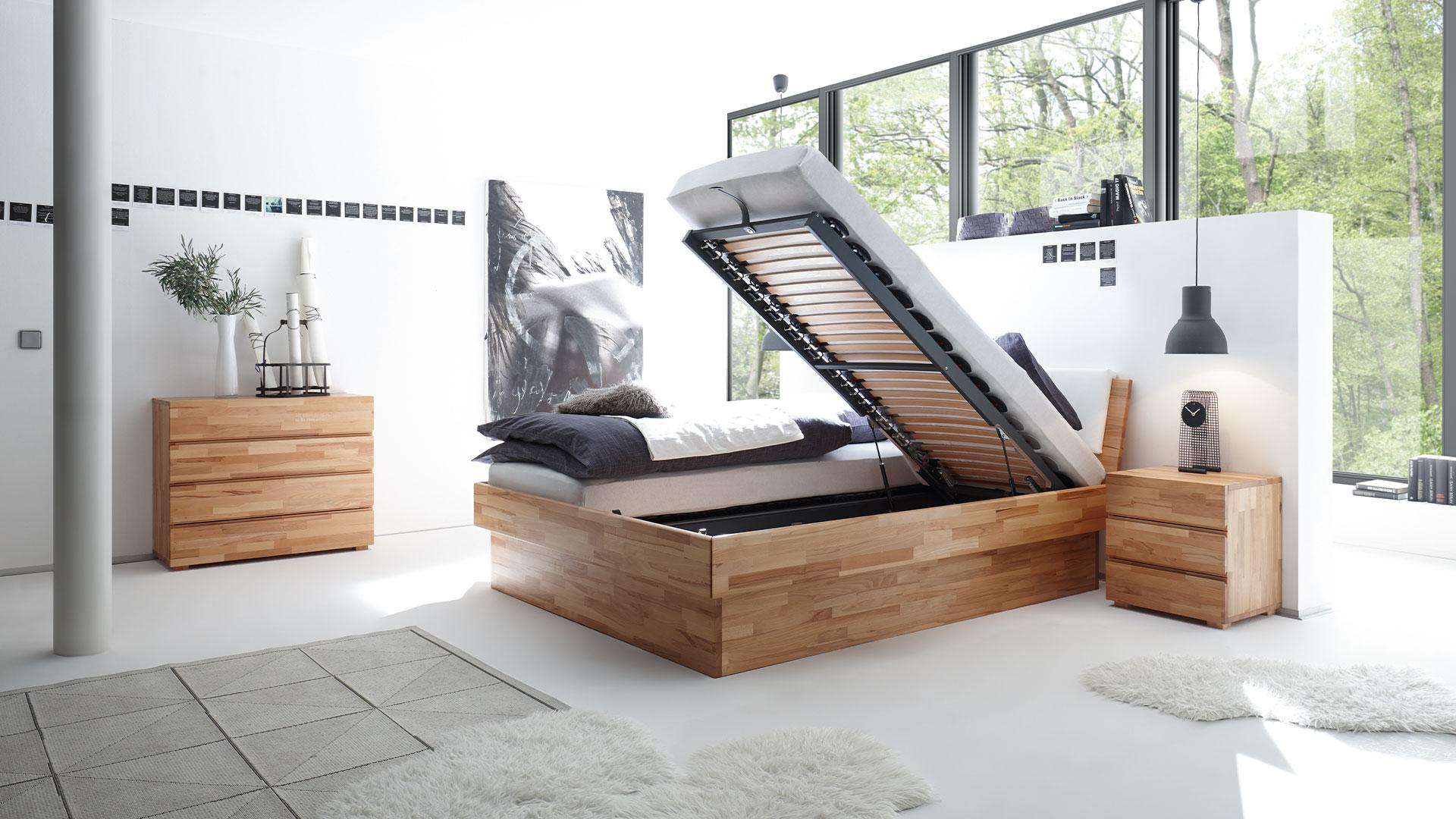 Bett Practico von Hasena